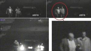 Night surveillance images of his worship, taken by Toronto Police helicopter